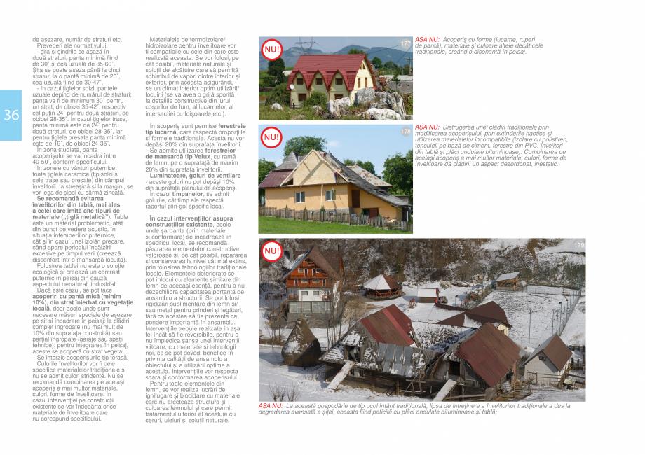 Pagina 38 - Zona Bran - Ghid de arhitectura pentru incadrarea in specificul local din mediul rural  ...