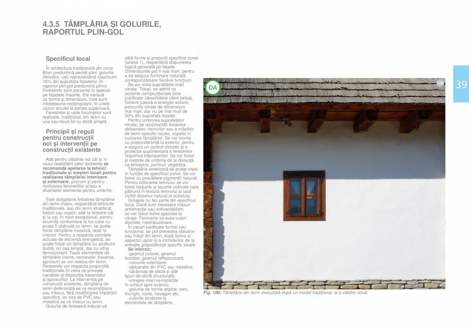 Pagina 41 - Zona Bran - Ghid de arhitectura pentru incadrarea in specificul local din mediul rural  ...