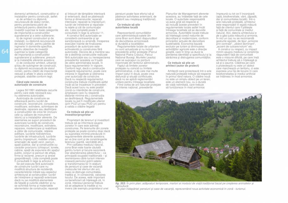 Pagina 66 - Zona Bran - Ghid de arhitectura pentru incadrarea in specificul local din mediul rural  ...