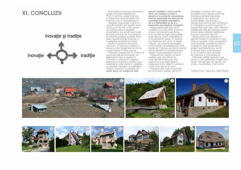 Pagina 67 - Zona Bran - Ghid de arhitectura pentru incadrarea in specificul local din mediul rural  ...