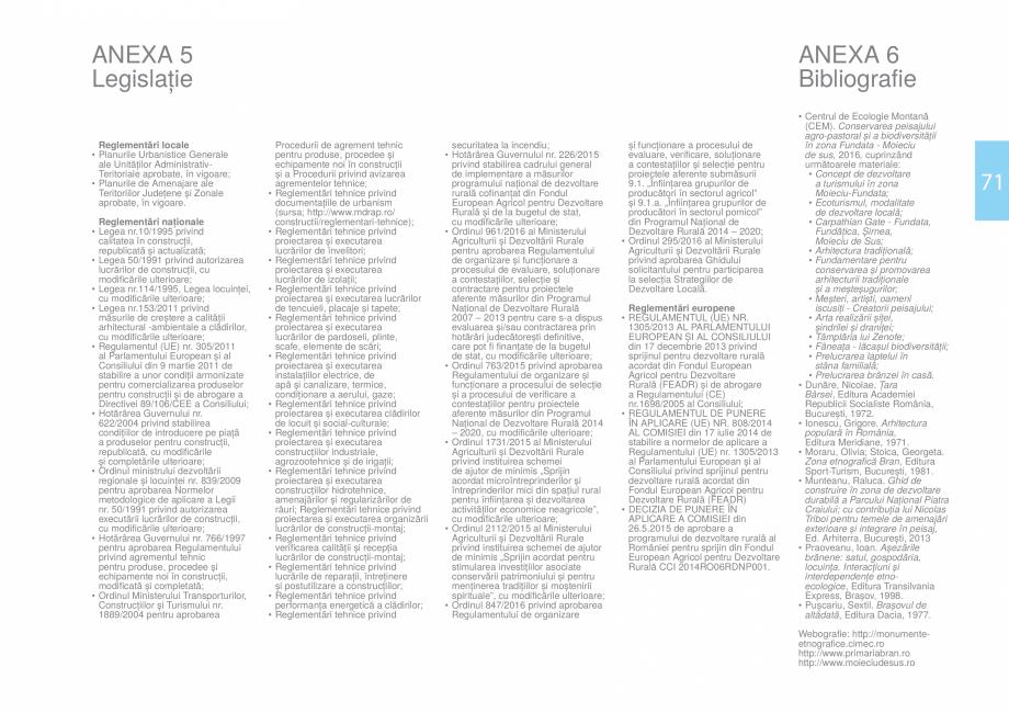 Pagina 73 - Zona Bran - Ghid de arhitectura pentru incadrarea in specificul local din mediul rural  ...
