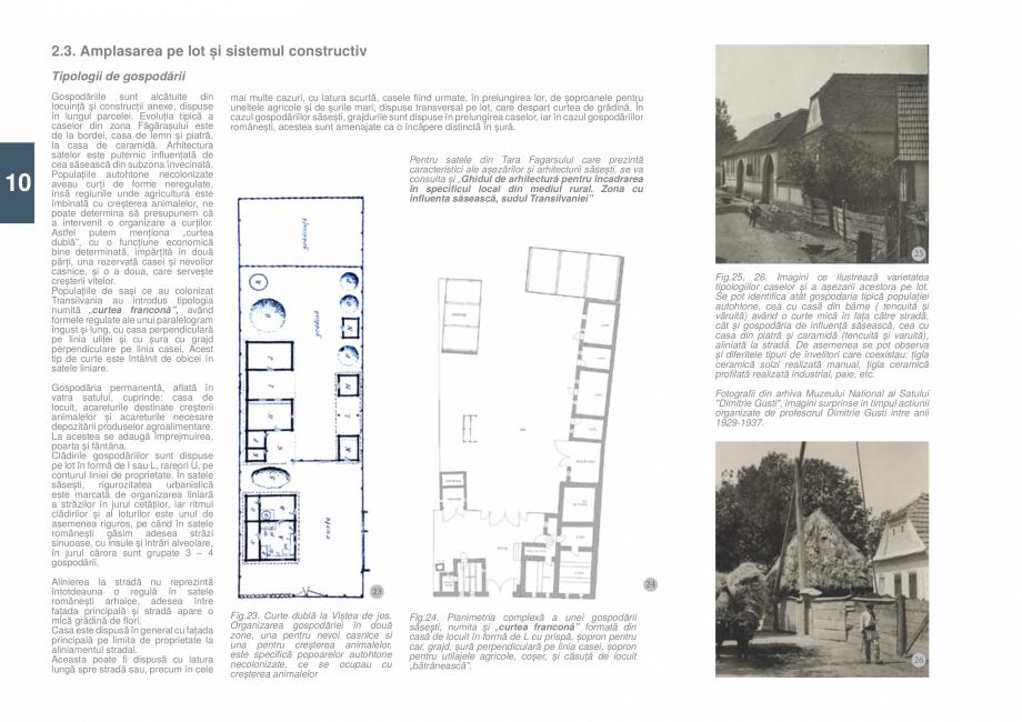 Pagina 12 - Zona Tara Fagarasului - Ghid de arhitectura pentru incadrarea in specificul local din...