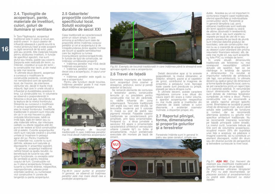 Pagina 18 - Zona Tara Fagarasului - Ghid de arhitectura pentru incadrarea in specificul local din...