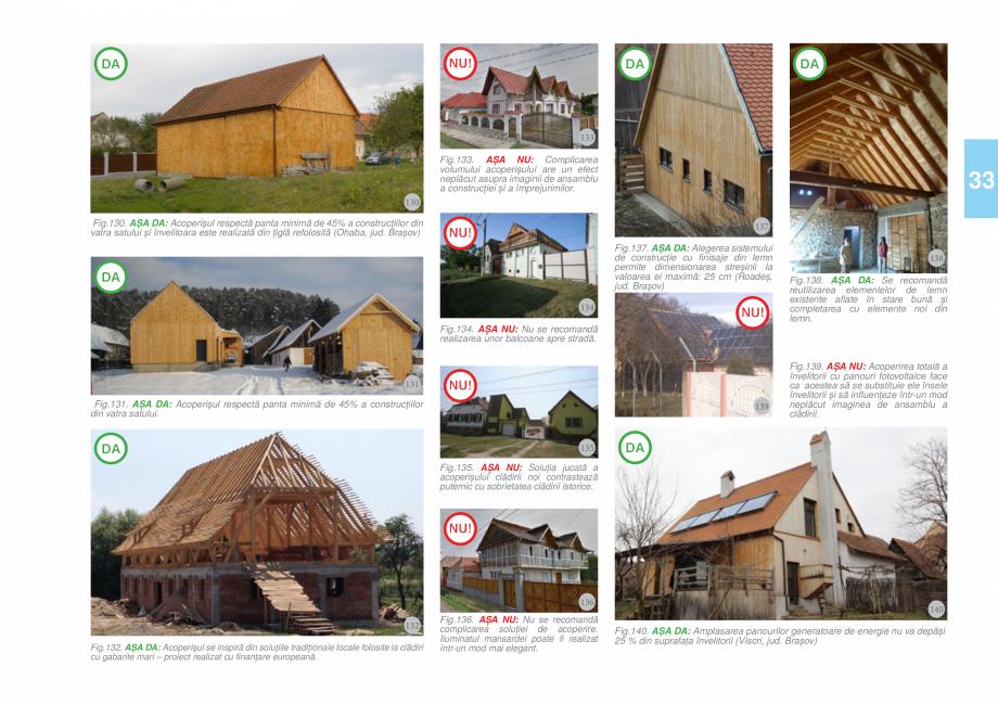 Pagina 35 - Zona Tara Fagarasului - Ghid de arhitectura pentru incadrarea in specificul local din...