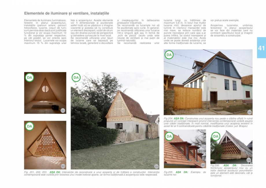 Pagina 43 - Zona Tara Fagarasului - Ghid de arhitectura pentru incadrarea in specificul local din...