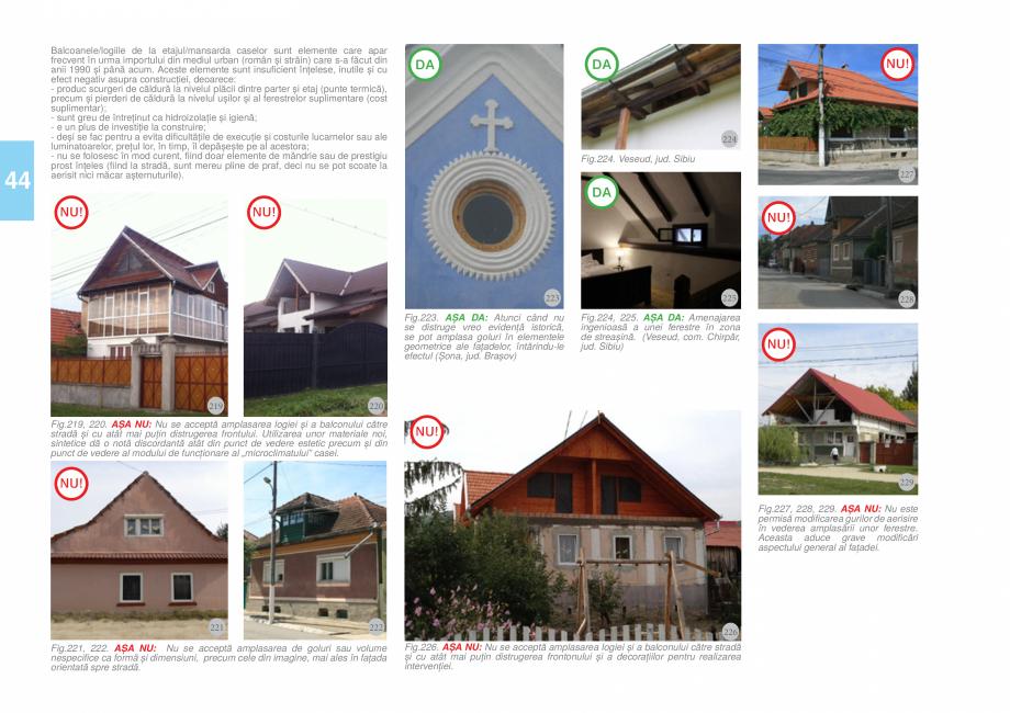 Pagina 46 - Zona Tara Fagarasului - Ghid de arhitectura pentru incadrarea in specificul local din...