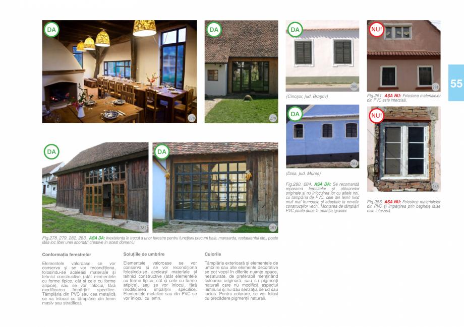 Pagina 57 - Zona Tara Fagarasului - Ghid de arhitectura pentru incadrarea in specificul local din...