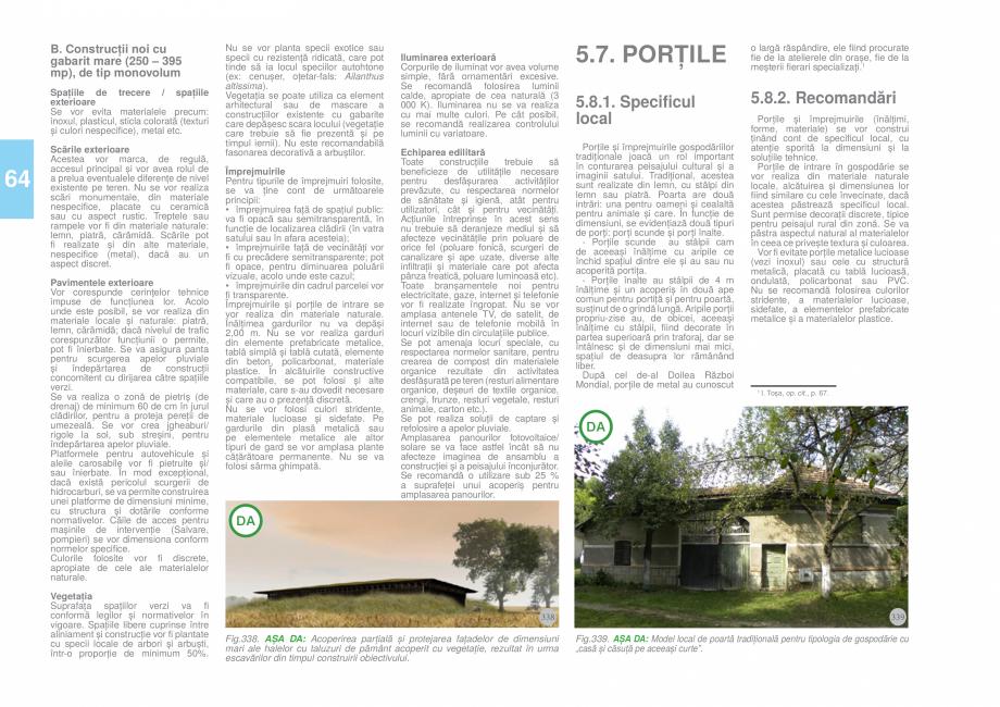 Pagina 66 - Zona Tara Fagarasului - Ghid de arhitectura pentru incadrarea in specificul local din...