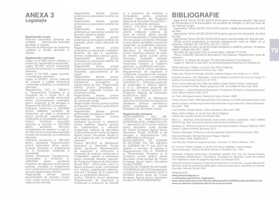 Pagina 81 - Zona Tara Fagarasului - Ghid de arhitectura pentru incadrarea in specificul local din...