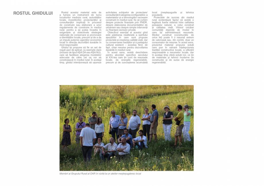Pagina 4 - Zona Saseasca - Ghid de arhitectura pentru incadrarea in specificul local din mediul...