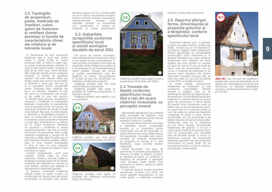 Pagina 11 - Zona Saseasca - Ghid de arhitectura pentru incadrarea in specificul local din mediul...