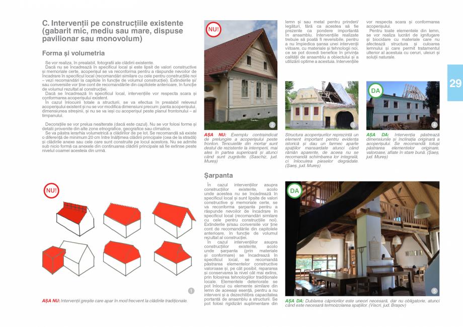 Pagina 31 - Zona Saseasca - Ghid de arhitectura pentru incadrarea in specificul local din mediul...