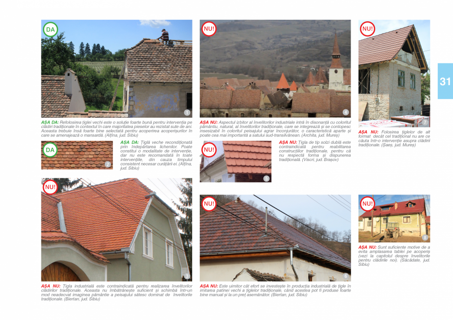 Pagina 33 - Zona Saseasca - Ghid de arhitectura pentru incadrarea in specificul local din mediul...