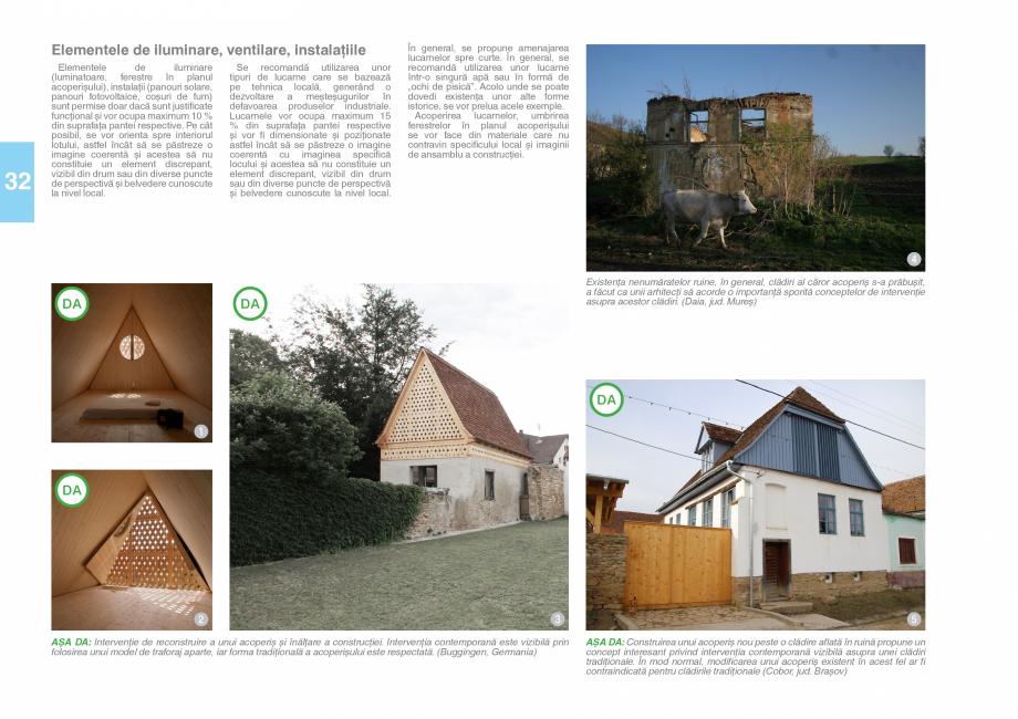 Pagina 34 - Zona Saseasca - Ghid de arhitectura pentru incadrarea in specificul local din mediul...