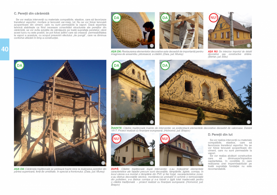 Pagina 42 - Zona Saseasca - Ghid de arhitectura pentru incadrarea in specificul local din mediul...