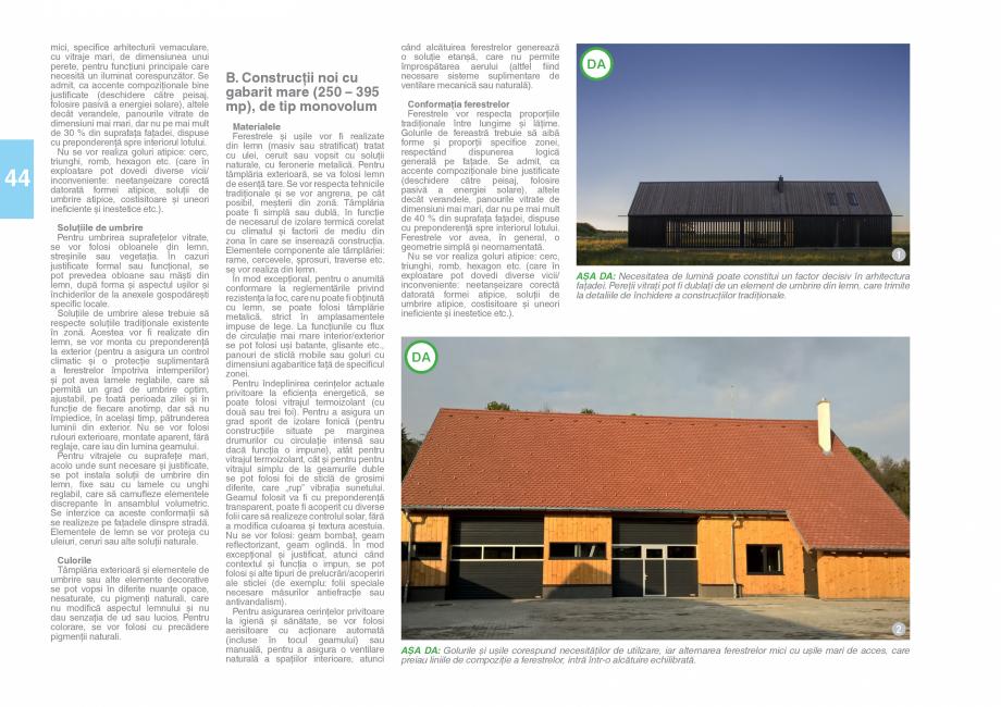 Pagina 46 - Zona Saseasca - Ghid de arhitectura pentru incadrarea in specificul local din mediul...