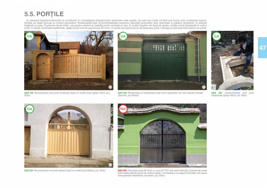 Pagina 49 - Zona Saseasca - Ghid de arhitectura pentru incadrarea in specificul local din mediul...