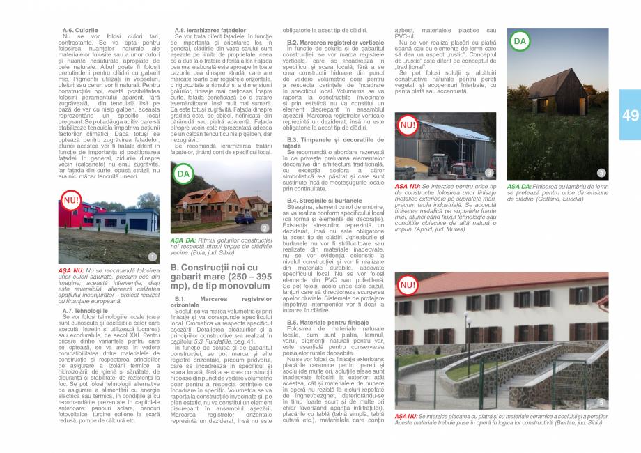 Pagina 51 - Zona Saseasca - Ghid de arhitectura pentru incadrarea in specificul local din mediul...