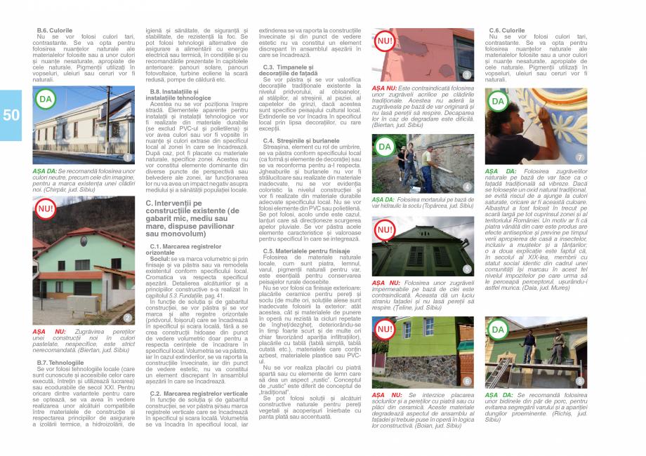 Pagina 52 - Zona Saseasca - Ghid de arhitectura pentru incadrarea in specificul local din mediul...