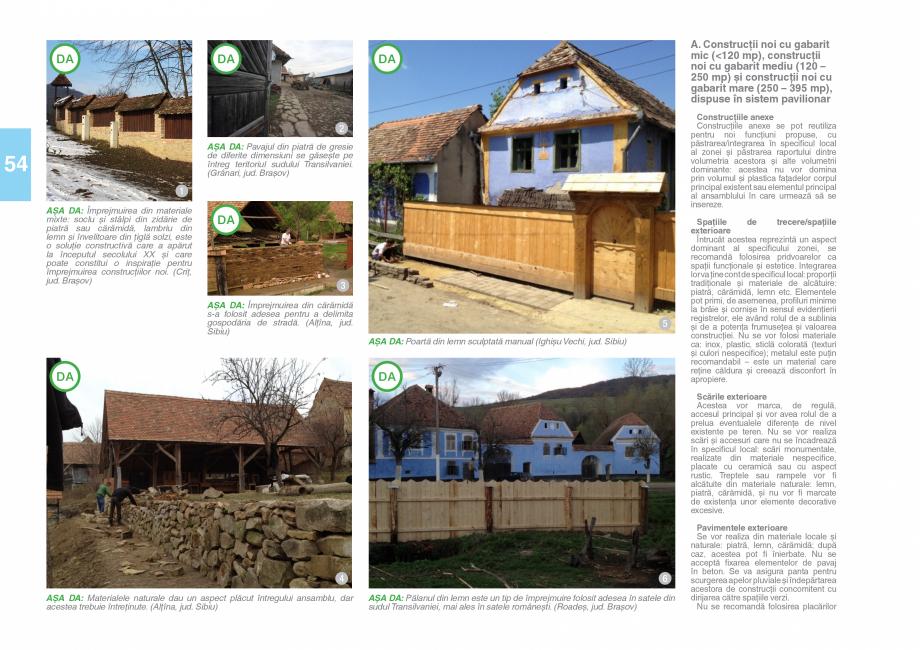 Pagina 56 - Zona Saseasca - Ghid de arhitectura pentru incadrarea in specificul local din mediul...