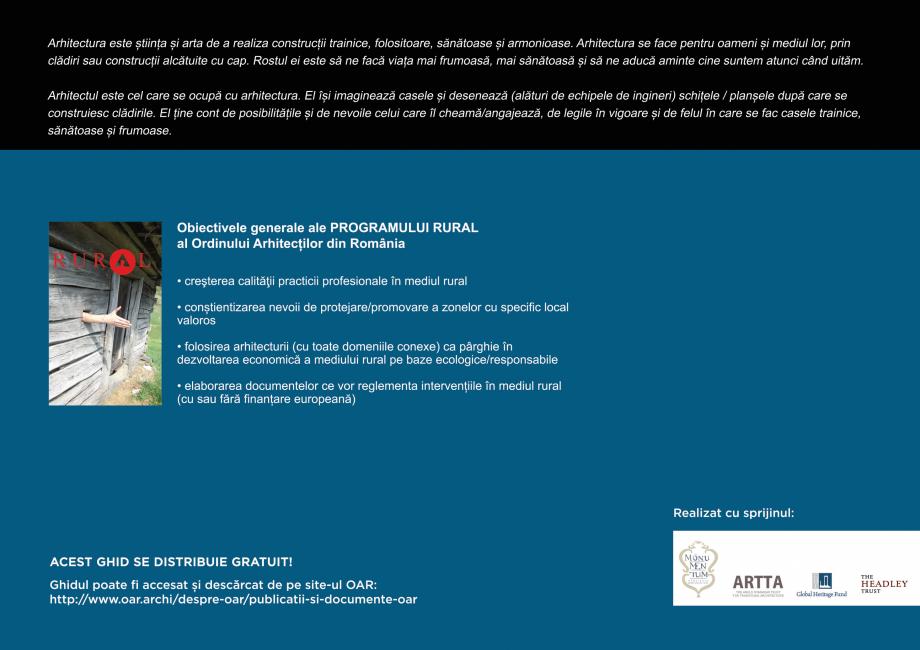 Pagina 68 - Zona Saseasca - Ghid de arhitectura pentru incadrarea in specificul local din mediul...