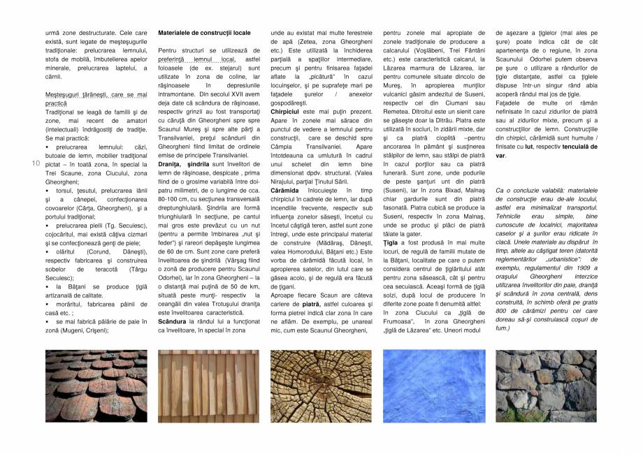 Pagina 10 - Zona Secuime - Ghid de arhitectura pentru incadrarea in specificul local din mediul...