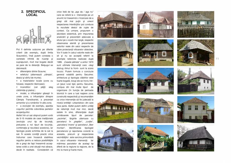Pagina 11 - Zona Secuime - Ghid de arhitectura pentru incadrarea in specificul local din mediul...