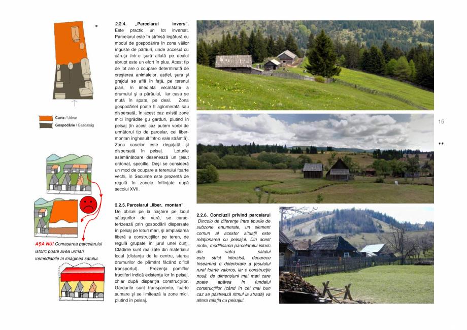 Pagina 15 - Zona Secuime - Ghid de arhitectura pentru incadrarea in specificul local din mediul...