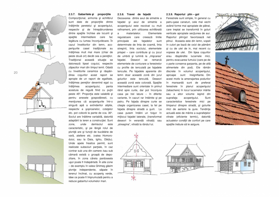 Pagina 20 - Zona Secuime - Ghid de arhitectura pentru incadrarea in specificul local din mediul...
