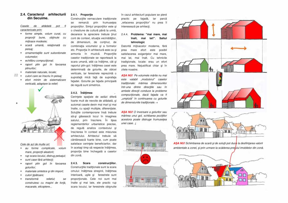Pagina 22 - Zona Secuime - Ghid de arhitectura pentru incadrarea in specificul local din mediul...