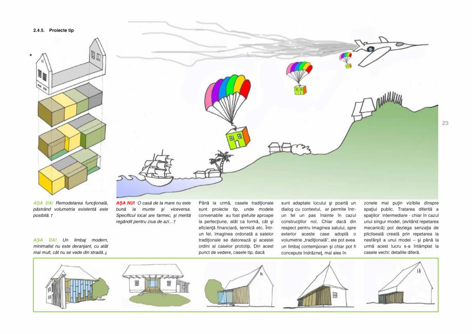Pagina 23 - Zona Secuime - Ghid de arhitectura pentru incadrarea in specificul local din mediul...