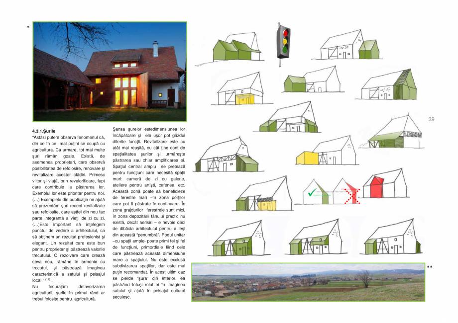 Pagina 39 - Zona Secuime - Ghid de arhitectura pentru incadrarea in specificul local din mediul...