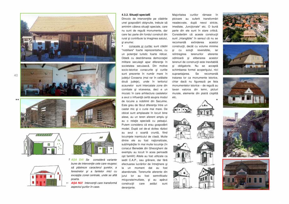 Pagina 40 - Zona Secuime - Ghid de arhitectura pentru incadrarea in specificul local din mediul...