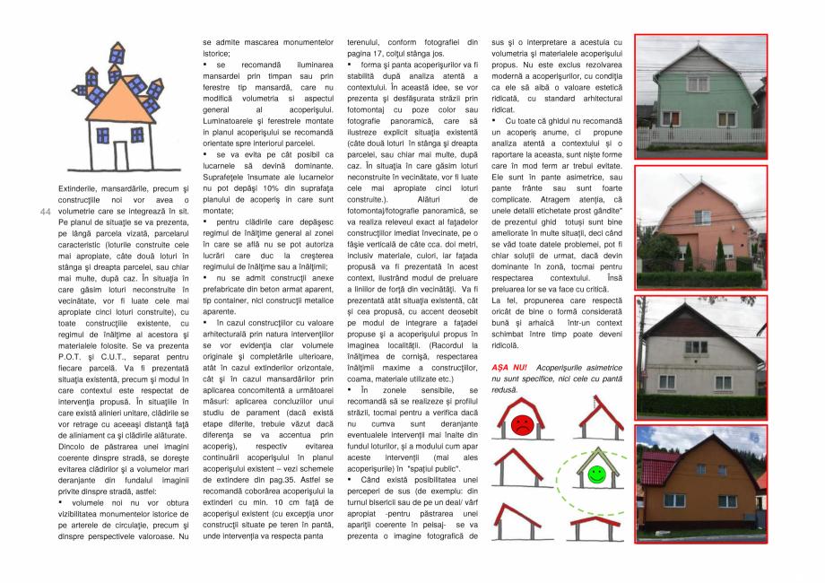 Pagina 44 - Zona Secuime - Ghid de arhitectura pentru incadrarea in specificul local din mediul...