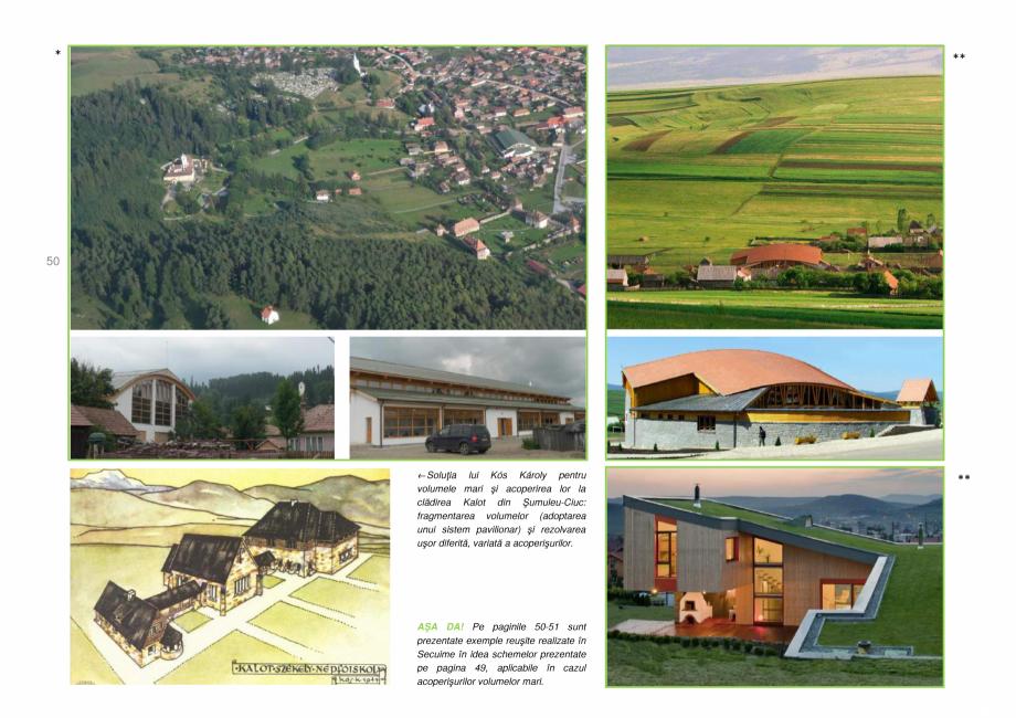 Pagina 50 - Zona Secuime - Ghid de arhitectura pentru incadrarea in specificul local din mediul...