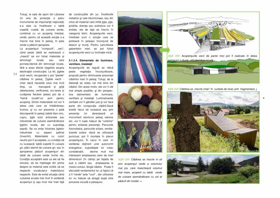 Pagina 54 - Zona Secuime - Ghid de arhitectura pentru incadrarea in specificul local din mediul...