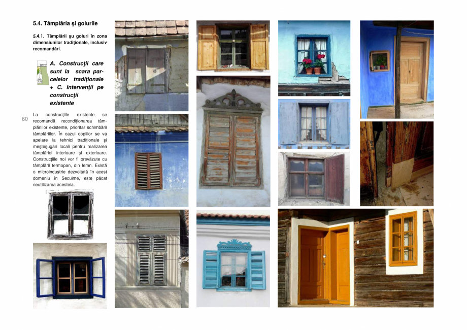 Pagina 60 - Zona Secuime - Ghid de arhitectura pentru incadrarea in specificul local din mediul...