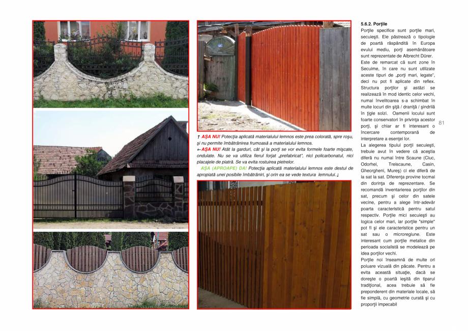Pagina 81 - Zona Secuime - Ghid de arhitectura pentru incadrarea in specificul local din mediul...