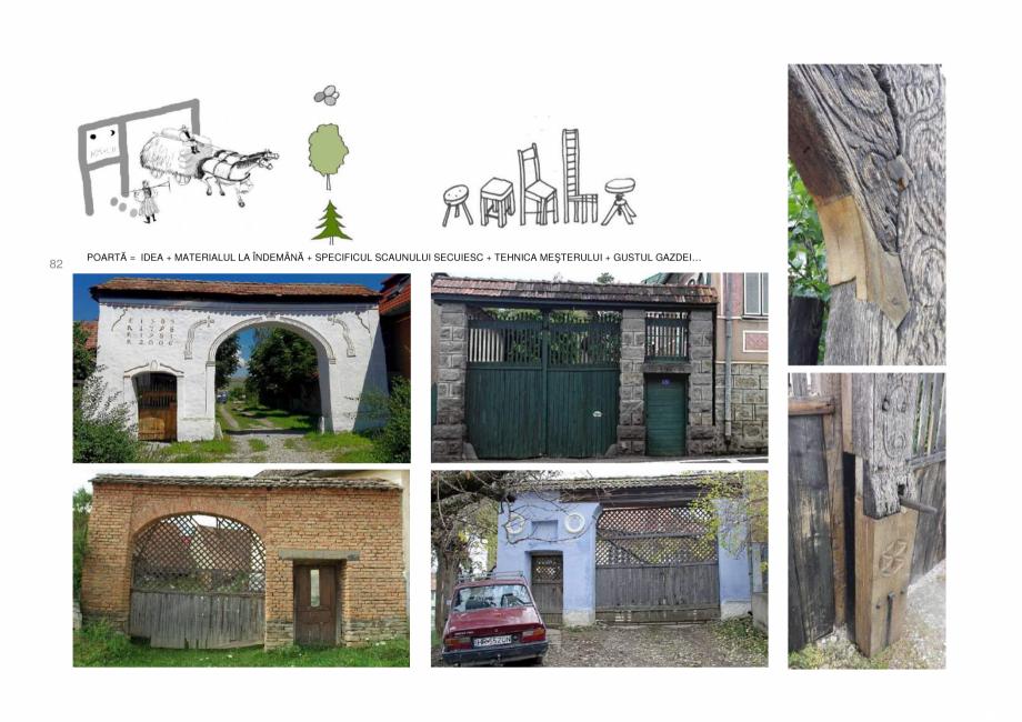 Pagina 82 - Zona Secuime - Ghid de arhitectura pentru incadrarea in specificul local din mediul...
