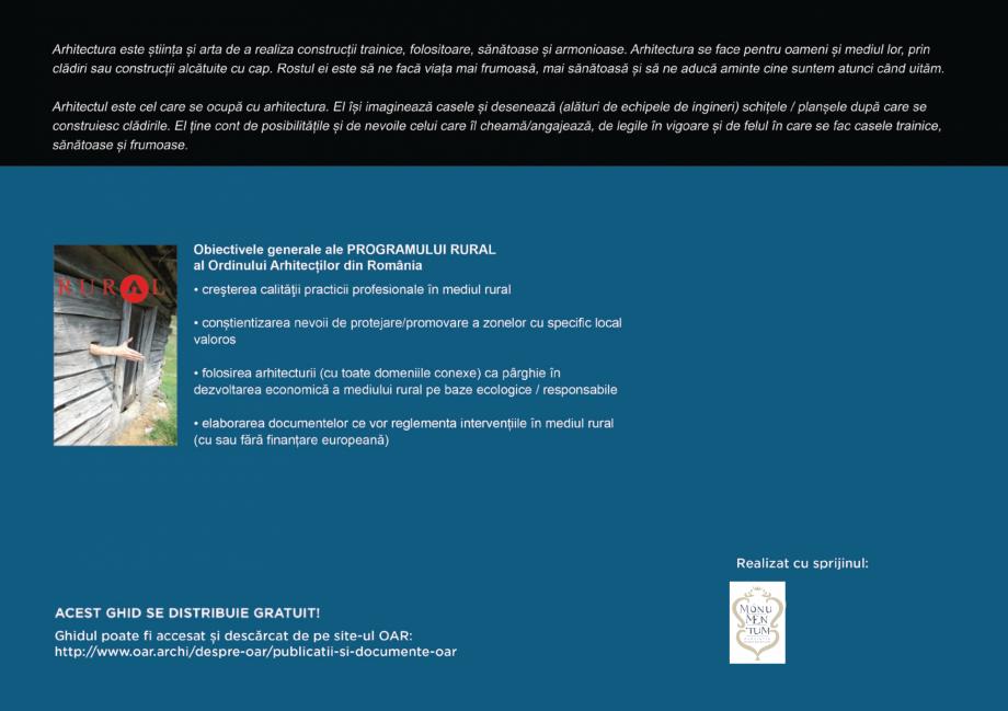Pagina 112 - Zona Secuime - Ghid de arhitectura pentru incadrarea in specificul local din mediul...
