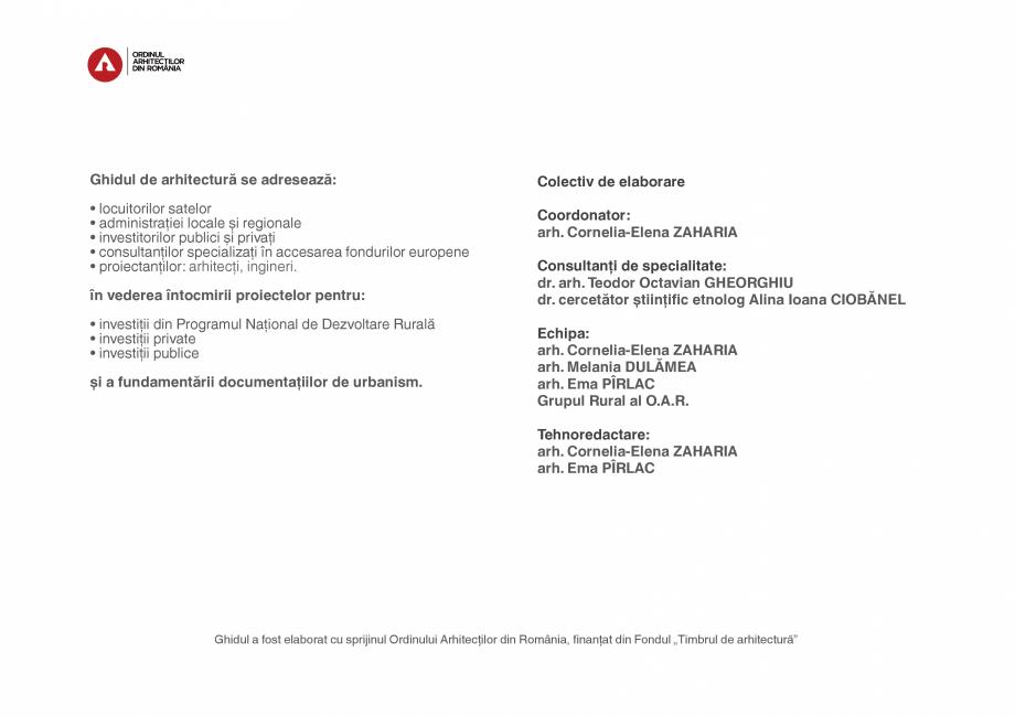 Pagina 4 - Zona Subcarpatica Buzau - Ghid de arhitectura pentru incadrarea in specificul local din...