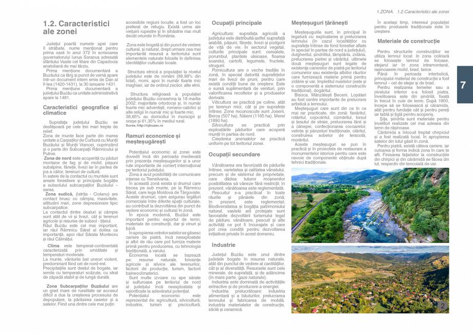Pagina 9 - Zona Subcarpatica Buzau - Ghid de arhitectura pentru incadrarea in specificul local din...