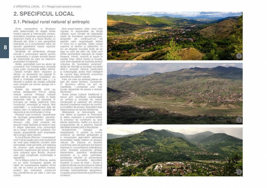 Pagina 10 - Zona Subcarpatica Buzau - Ghid de arhitectura pentru incadrarea in specificul local din ...