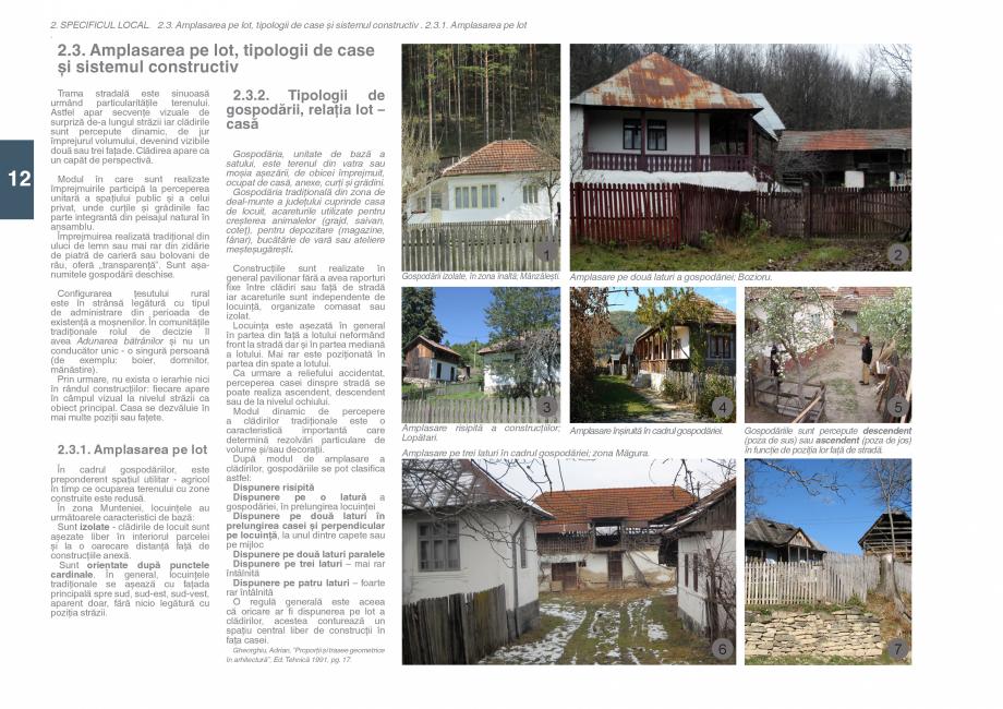 Pagina 14 - Zona Subcarpatica Buzau - Ghid de arhitectura pentru incadrarea in specificul local din ...