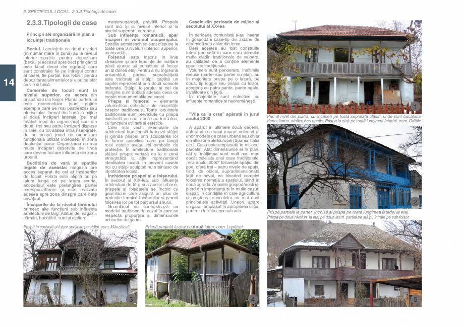 Pagina 16 - Zona Subcarpatica Buzau - Ghid de arhitectura pentru incadrarea in specificul local din ...