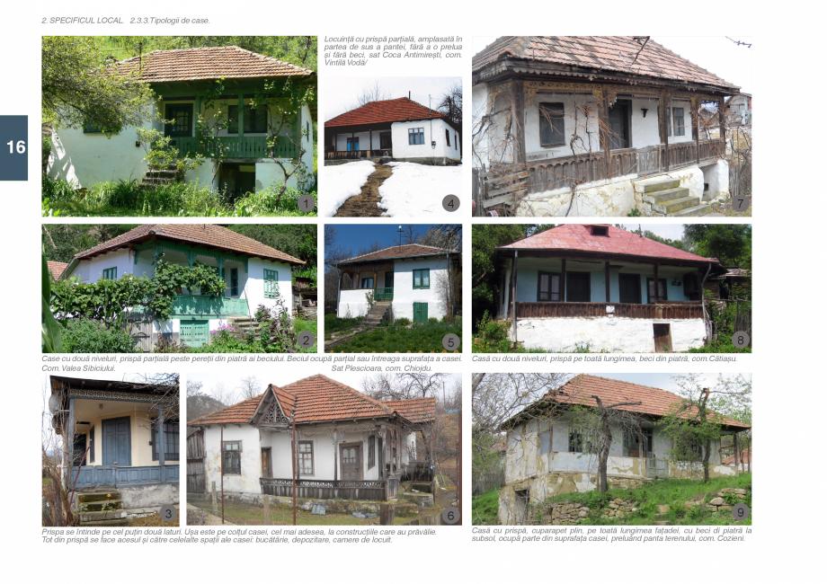 Pagina 18 - Zona Subcarpatica Buzau - Ghid de arhitectura pentru incadrarea in specificul local din ...