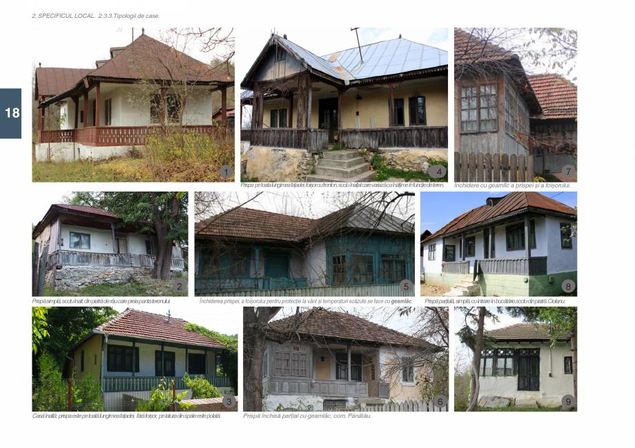Pagina 20 - Zona Subcarpatica Buzau - Ghid de arhitectura pentru incadrarea in specificul local din ...