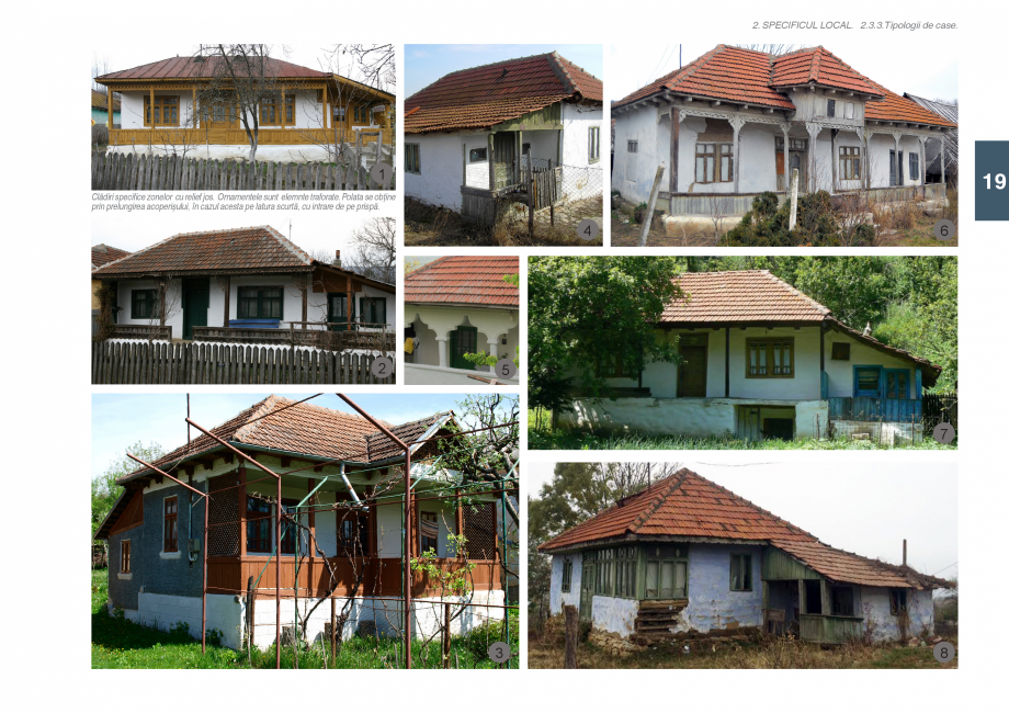 Pagina 21 - Zona Subcarpatica Buzau - Ghid de arhitectura pentru incadrarea in specificul local din ...