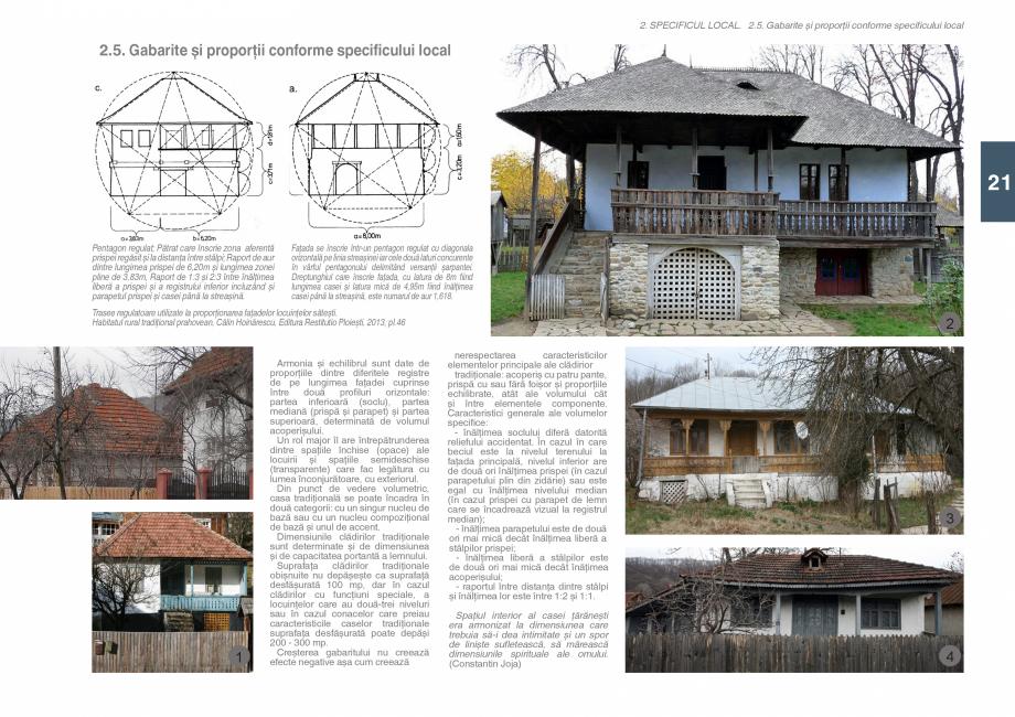 Pagina 23 - Zona Subcarpatica Buzau - Ghid de arhitectura pentru incadrarea in specificul local din ...