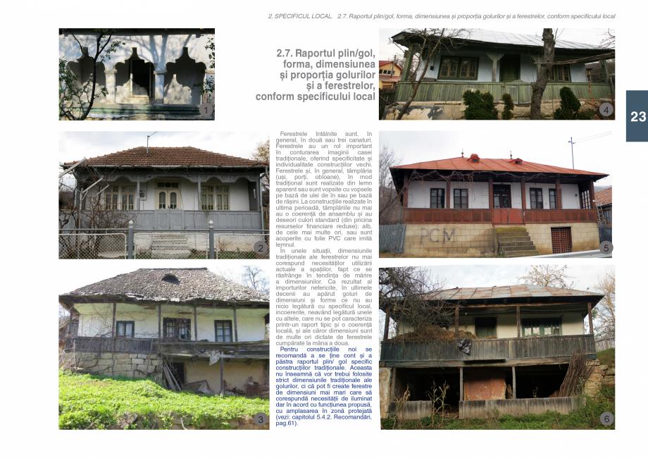 Pagina 25 - Zona Subcarpatica Buzau - Ghid de arhitectura pentru incadrarea in specificul local din ...